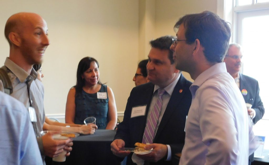 New Faculty Reception Sept. 2018