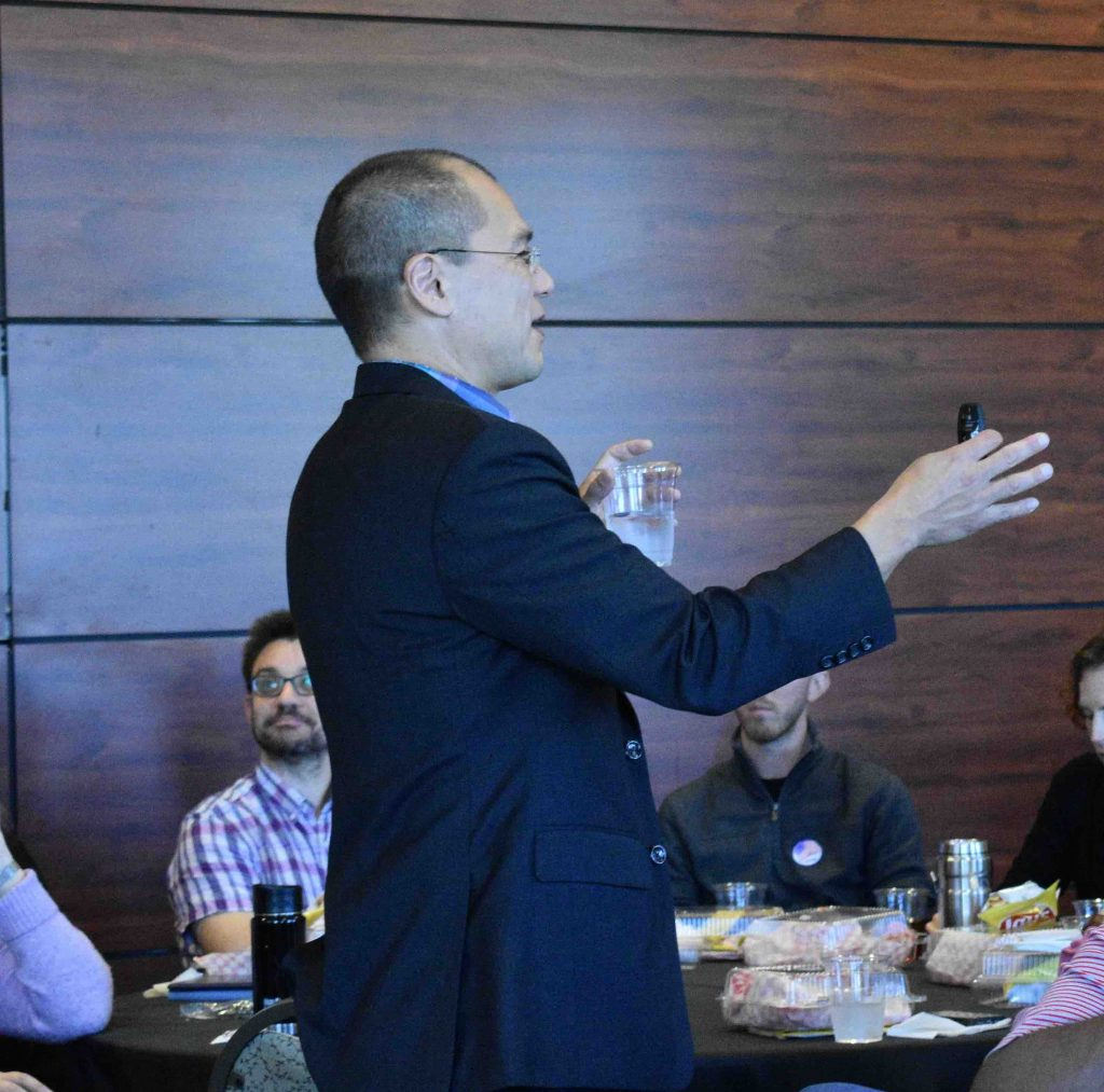 Faculty Development Luncheon Nov 18 Dave Kung